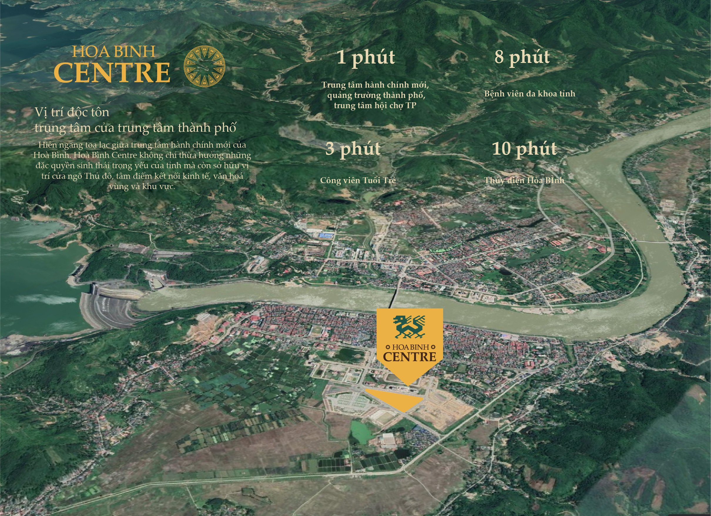 liên kết vị trí dự án tsg hòa bình centre